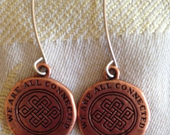 We Are All Connected Earrings