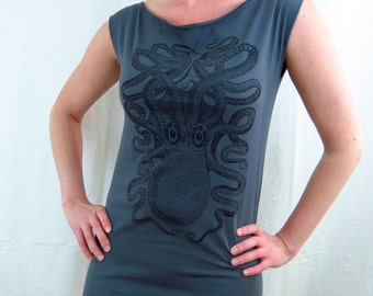 Octopus Tshirt Dress