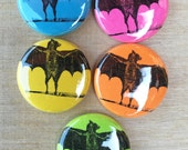 BATS Magnet or Pinback Button 1""