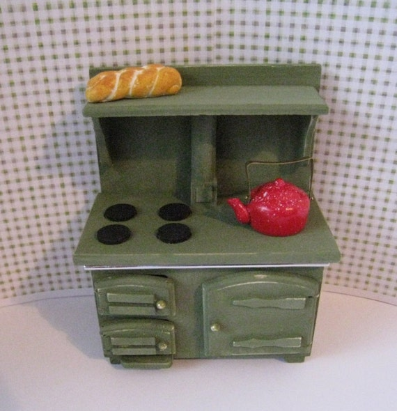 Old Fashioned Stove: Dollhouse StoveSALE Cooker Old Fashioned Stove Stove