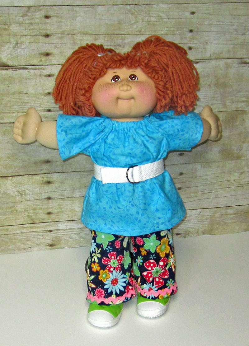Cabbage Patch Doll Clothes 16 Or 17 Inch Doll Clothes Flower