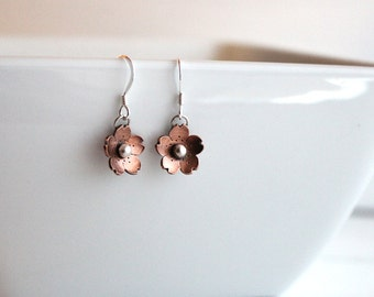 Cherry Blossom Dangle Earrings, Sakura earrings, Cherry blossom Jewelry, Handmade by Hapa Girls, gifts for her, Gifts under 40, Earrings