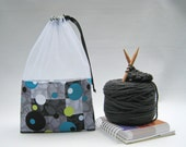 Metropia At-A-Glance Knitting/Crochet/Spinning Project Bags Large/Medium/Small & Zippered Accessory