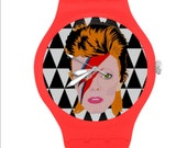 ZIGGY REBEL REBEL unisex watch wrist watch... original illustration