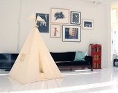 Kids teepee tent - plain MIDI size