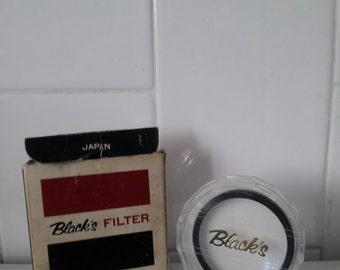 Vintage BLACKS Camera Filter