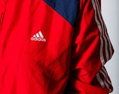 The Red White and Blue USA Adidas Zip Up Windbreaker Jacket