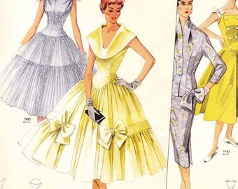 "PDFs of 50s sewing pattern catalogs - ""Neue Modelle"" Summer 1956 - 36 pages"