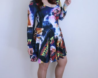 Back to the Future Skater Dress