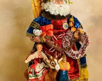 Santa...Russian Inspired