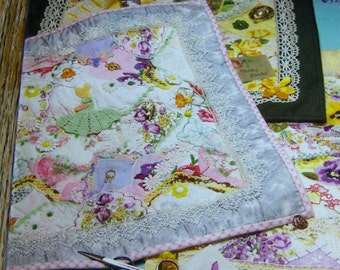 Hanky Panky crazy quilts instructions for making crazy quilts from heirloom handkerchiefs
