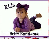 KIDS...Betty Bandana in Lady Bug Print
