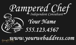 Vinyl Car Decal Pampered Chef Car Decal Business Decal