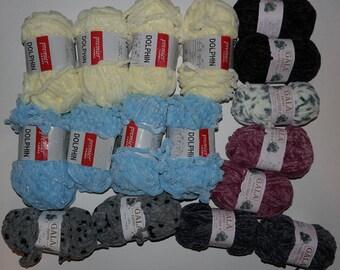 Yarn - Velvety - Variety