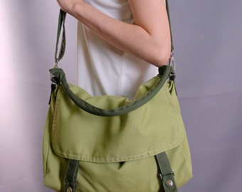 Sale 20%OFF-Ready To Ship-Tea Color Messengger Bag/schoo/purse/handbag/casual/shoulder bag/messenger bag/for her/for him/women/men/tote-082