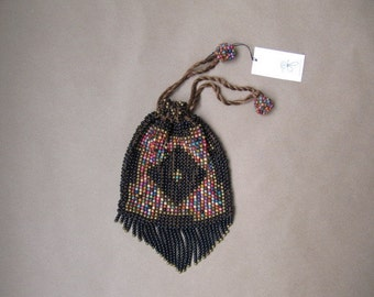 vintage 1920s arts and crafts pouch purse