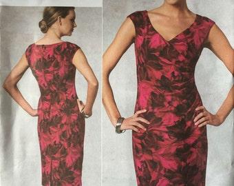 Vogue V1192 Anne Klein Sewing Pattern Ladies Dress 16-18-20-22