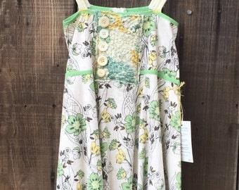 Upcycled Girls Dress Size 7