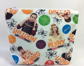 POUCH- The Big Bang Theory **handmade**
