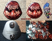 The Deadly Spawn Hat Pin by Undead Ed