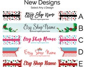 Etsy Shop Banners - Etsy Banners - Etsy Branding Graphics - Etsy Store Graphics - New Etsy Shop Bannes - Selection 2 - Etsy Shop Supplies