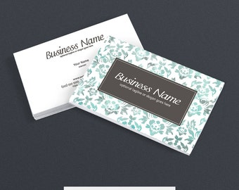 30% OFF SALE Business Card Designs - 2 Sided Printable Business Card Design - The Kaylee Collection