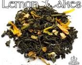Lemon Cakes Loose Tea - loose leaf green tea, lemon tea, Game of Thrones, Sansa Stark, Winterfell, dessert tea, nerd gift, fandom tea