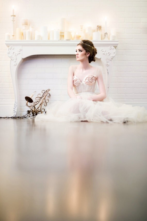 Modern Romance Wedding Dress : The modern romance wedding dress gown blush beige champagne ivory