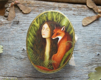 Kindred Spirits - Jewelry box