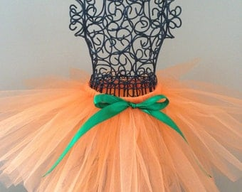 Pumpkin tutu- Pumpkin tutu costume- Pumpkin costume baby- Pumpkin costume toddler- Pumpkin costume girl- Orange tutu - Orange Halloween tutu