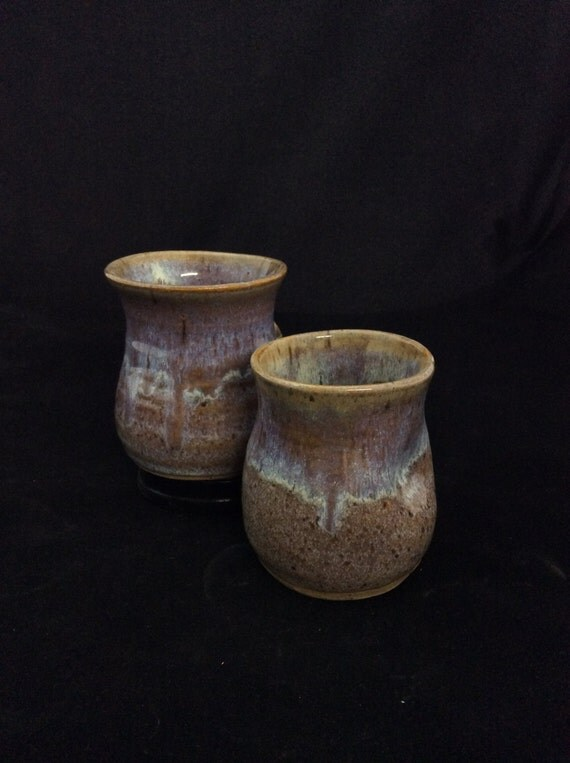 Thumblers (Small)/ handmade/ Cinnamon sand Glaze