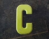 Vintage Letter C Steel Marquee Sign Metal Letter Signage