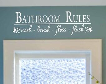 Escape The Bathroom Dental Floss floss sticker | etsy