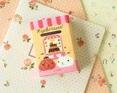 Kapibarasan PINK 12pc cartoon sticker notes set