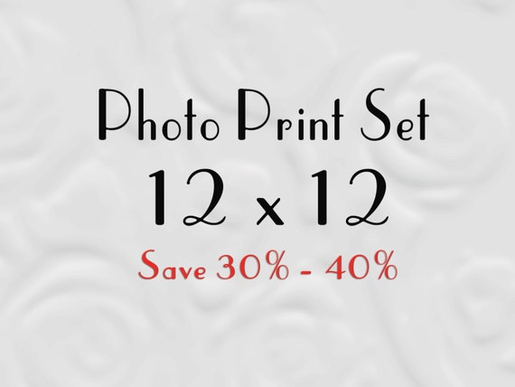 12x12 Print Set for IKEA Ribba - Set of Prints 12x12 - Save up to 40%