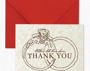 Romance Managed - Thank You Cards