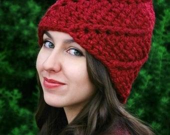 Crochet Pattern - The Glenn Gnome Hat (Adult)