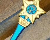Handmade Acrylic Sailor Mercury Star Transformation Wand Necklace
