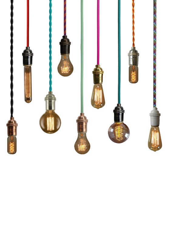 Pendant Light Any Color Modern Industrial By HangoutLighting