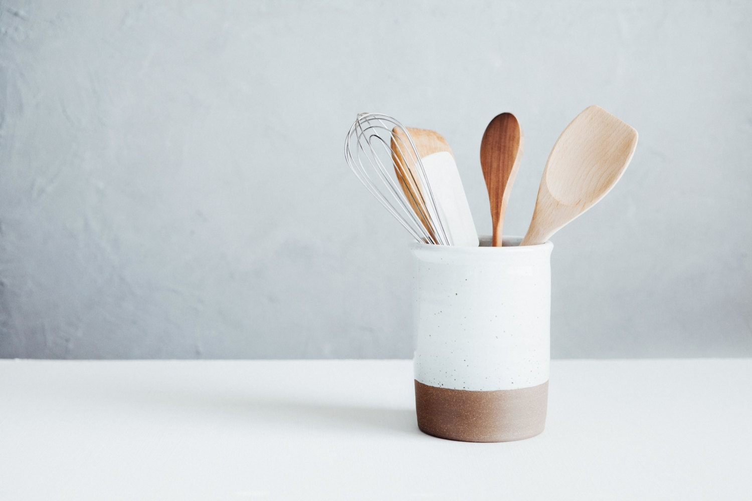 Utensil Crock Spoon Crock Wine Chiller Ceramics