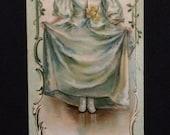 Vintage Advertising Bookmark - Lillibridge Bremner Crackers - Trade Card