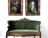 "Imperatrice Vicugna -  Ornate Frame 25.5"" X 21.5"""