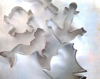Pirate Cookie Cutter Set / Pirate Party Supplies