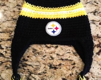 Pittsburgh Steelers Crochet Hat