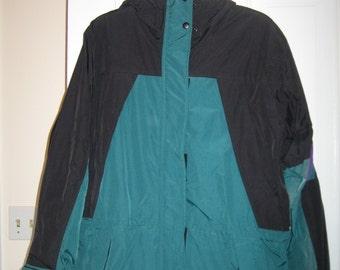 Jacket, Anorak, Ski shell, Never Worn, Ski Parka, Nylon Jacket, High Quality, lots of detailing,NOS