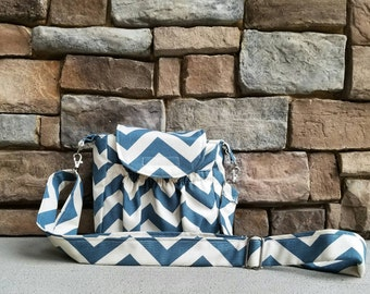 Messenger Purse - You CHOOSE Print - Made to Order