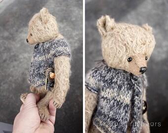 Toto, One of a Kind Mohair Artist Teddy Bear from Aerlinn Bears
