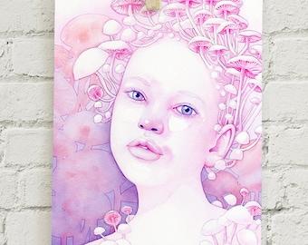 "Infectious Innocence: 5x7"" print"