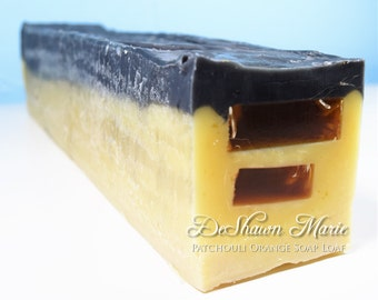 SOAP - 3 lb. Patchouli Orange Handmade Soap Loaf, Wholesale Soap Loaves, Vegan Soap, Cold Processed Soap, Natural Soap