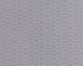 True Luck Grey Trellis / Butterflies - Stephanie Ryan for Moda Fabrics
